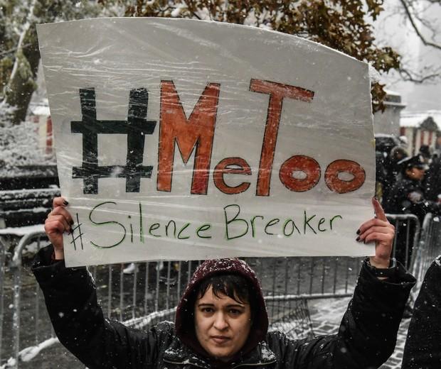 Movimento #MeToo foi criticado por Catherine Deneuve e mais de 100 mulheres francesas (Foto: Getty)