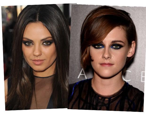 Mila Kunis e Kristen Stewart: apostas de esfumados diferenciados (Foto: Getty Images)