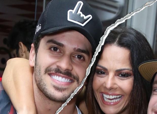 Viviane Araújo e Kainan Ferraz (Foto: Anderson Borde/AgNews )