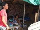 No AC, usuários de drogas montam moradia em reservatório de esgoto