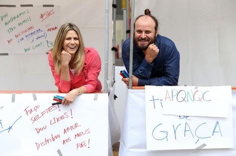 Didi Wagner e Paulinho Serra (Foto: Edu Viana/Multishow)