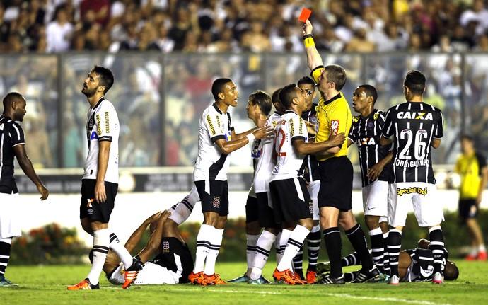 Rodrigo, Vasco X Corinthians (Foto: Alexandre Cassiano / Agência O Globo)