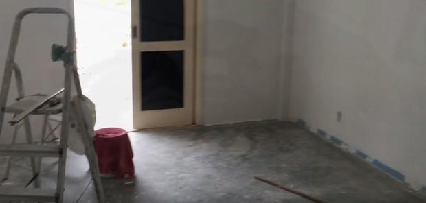 Evolução do quarto de Vítor filho de Kelly Key (Foto: Reprodução Youtube)