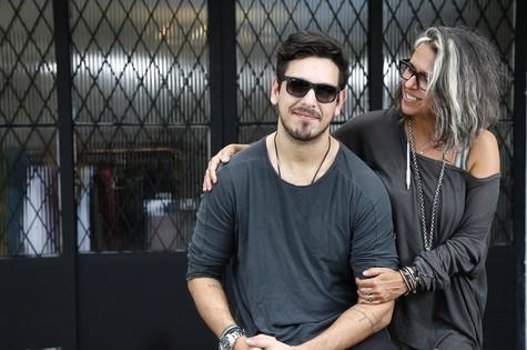 Gilda Midani e João Vicente de Castro (Foto: Fabio Rossi)
