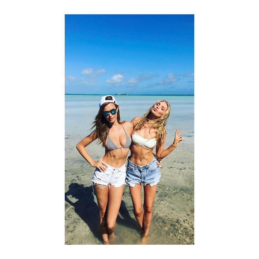 Josephine Skriver e Elsa Hosk (Foto: Reprodução/Instagram)