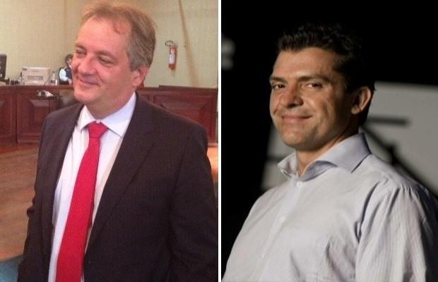 Cláudio Abreu e Fernando Cavendish também foram denunciados pelo MPF, Goiás (Foto: Sílvio Túlio/G1 e Reprodução/Globo News)