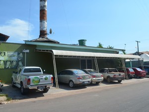 Sede da TV Tucuju em Macapá, uma das empresas atingidas pela decisão (Foto: Dyepeson Martins/G1)