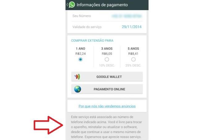 Sua conta do WhatsApp pode ser migrada para outro aparelho (Foto: Reprodução/Lívia Dâmaso)