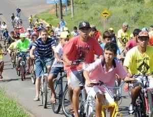 Passeio ciclistico de Alvares Machado (Foto: Odair Carlos / Arquivo Pessoal)