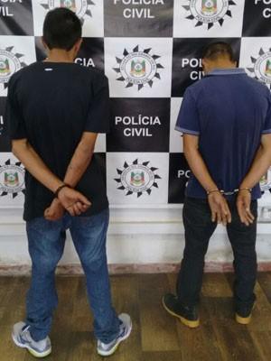 Homens foram presos em Canoas e encaminhados para o Presídio Central (Foto: Polícia Civil/Divulgação)