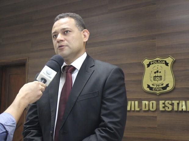 Delegado Geral Riedel Batista  (Foto: Catarina Costa/G1 PI)