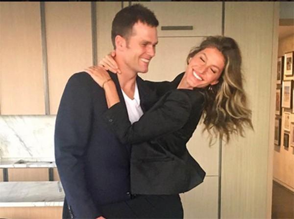 Gisele Bundchen e Tom Brady (Foto: Instagram)