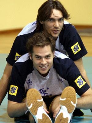 ricardinho giba seleção brasileira vôlei (Foto: Divulgação)