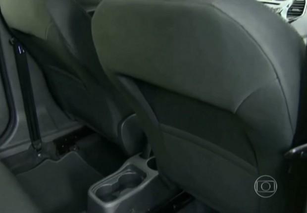 Banco traseiro do Ford Ka Plus (Foto: Reprodução)