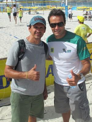 Roberto Lopes e Franco volei de praia (Foto: Eric Onida)