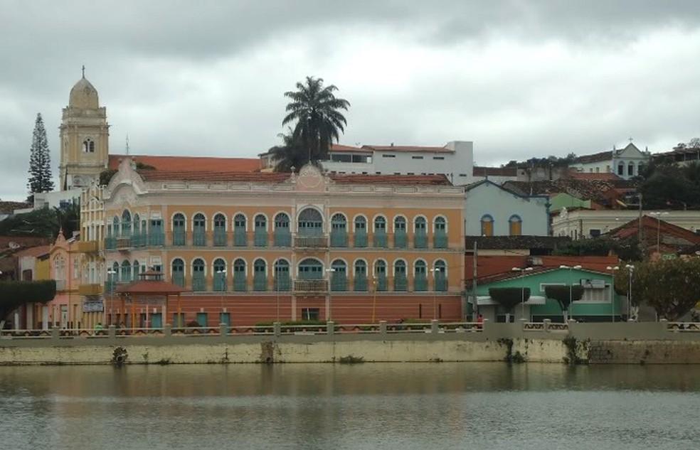 Festival de Cinema de Triunfo é realizado no Cineteatro Guarany  (Foto: Batistinha Linhares/Divulgação )