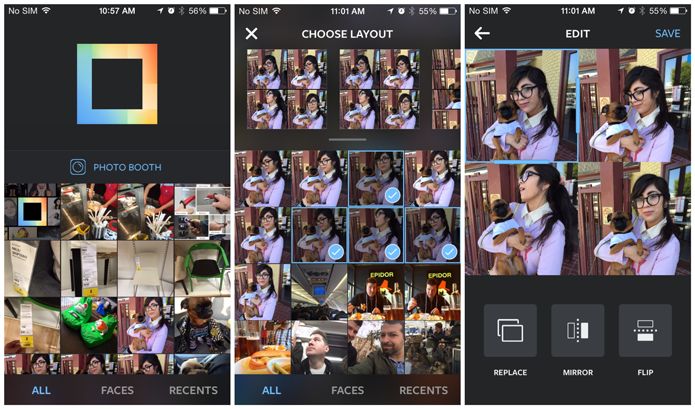 Layout From Instagram é um app oficial e que ajuda muito na hora de fazer colagens (Foto: Divulgação/Instagram)