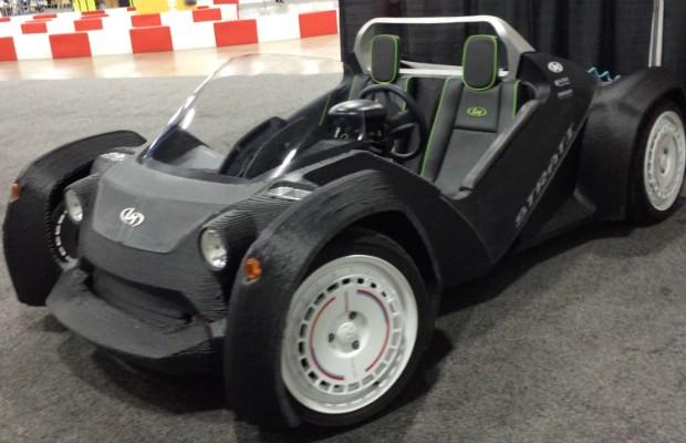 Strati, o primeiro carro 3D do mundo (Foto: Autoesporte)