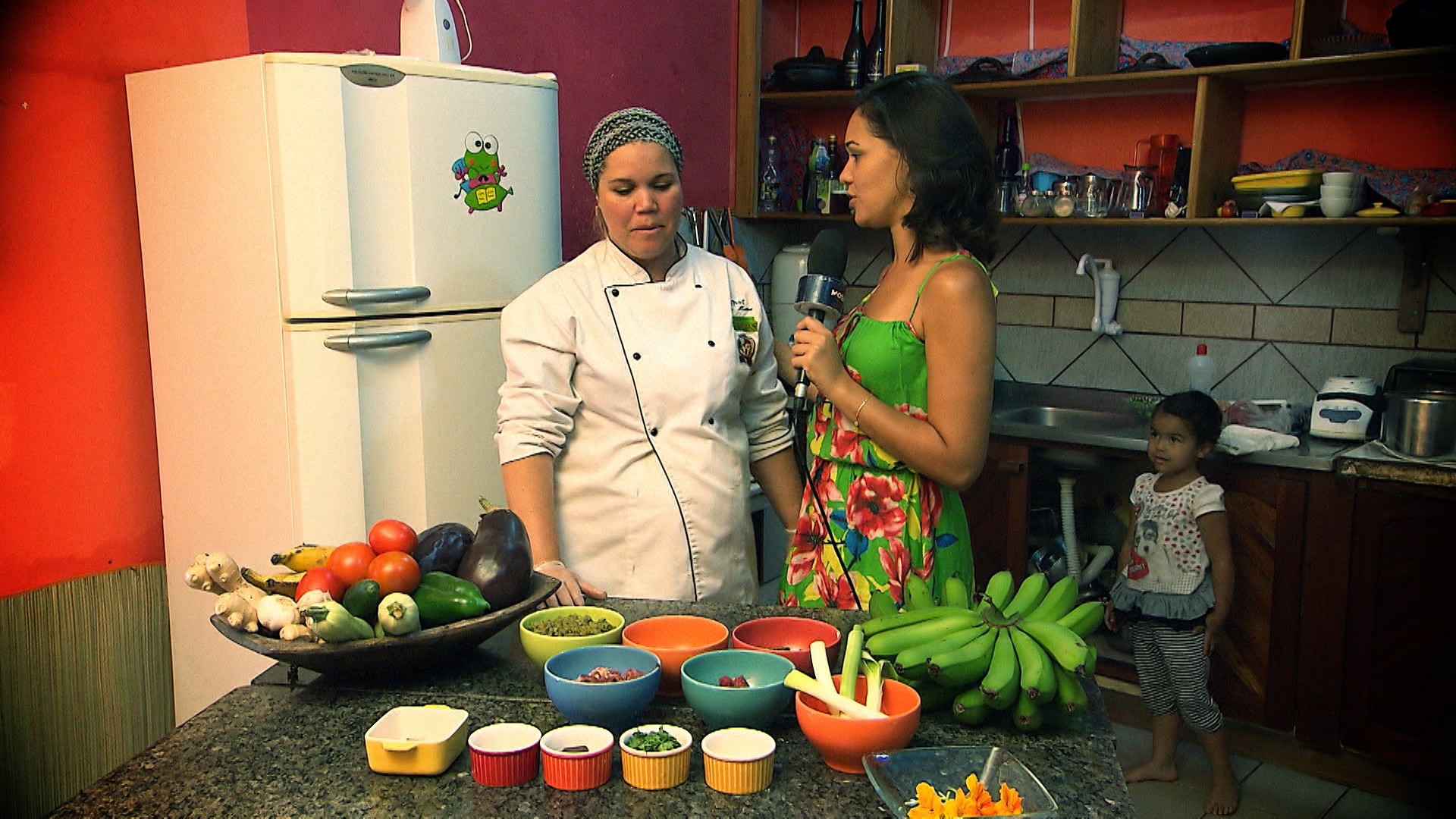'Pé na Pista' traz receita de godó de banana-verde e cortadinho de palma (Foto: Divulgação)