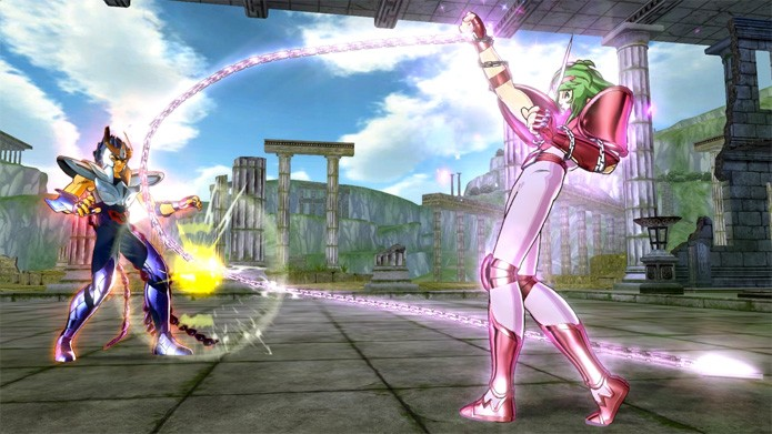 Game dos Cavaleiros do Zodíaco mais barato no PS3 (Foto: Divulgação)