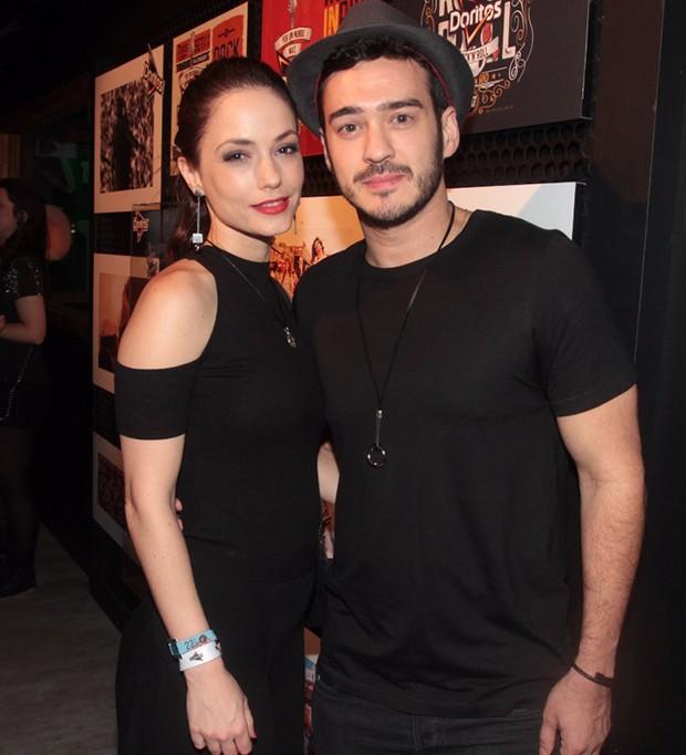 Marcos Veras e Rosanne Mulholland (Foto: Sergio Gallo/ QUEM)