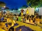 Grupo goiano apresenta espetáculo de rua em distrito de Casimiro, no RJ