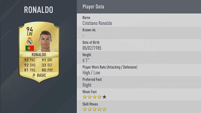 Português se tornou o melhor de Fifa 17 (Foto: Divulgação/EA Sports)