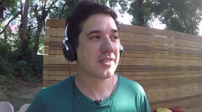 Rogério Flausino ouviu o som de Scalene, INKY, Plutão Já Foi Planeta, Boogarins e outras (Foto: Reprodução)