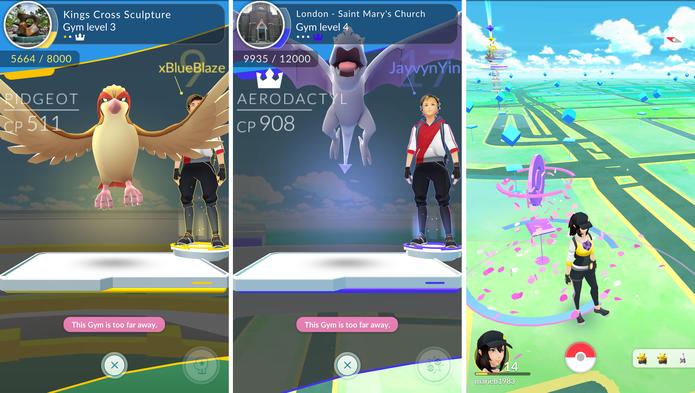 Pokémon Go não tem gráficos feios (Foto: Divulgação/Niantic)