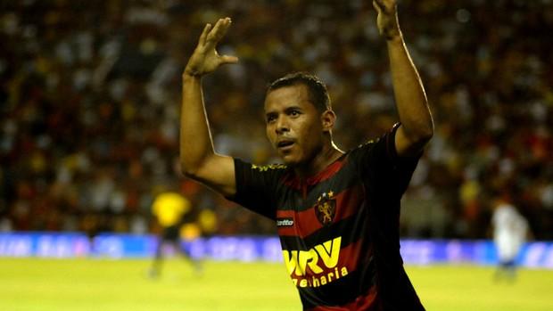 marcos aurélio sport x fortaleza (Foto: Aldo Carneiro / Pernambuco Press)