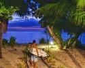 Brasileiros curtem visual paradisíaco de Fiji em novo dia sem competição