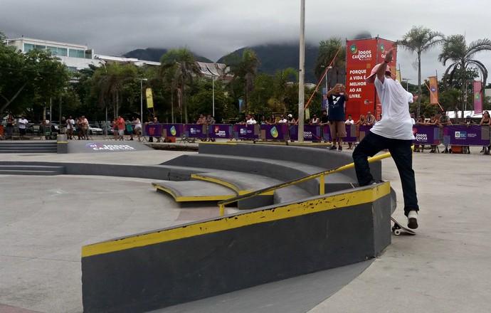 EuAtleta - jogos cariocas de verão skate rampa (Foto: Renata Domingues)