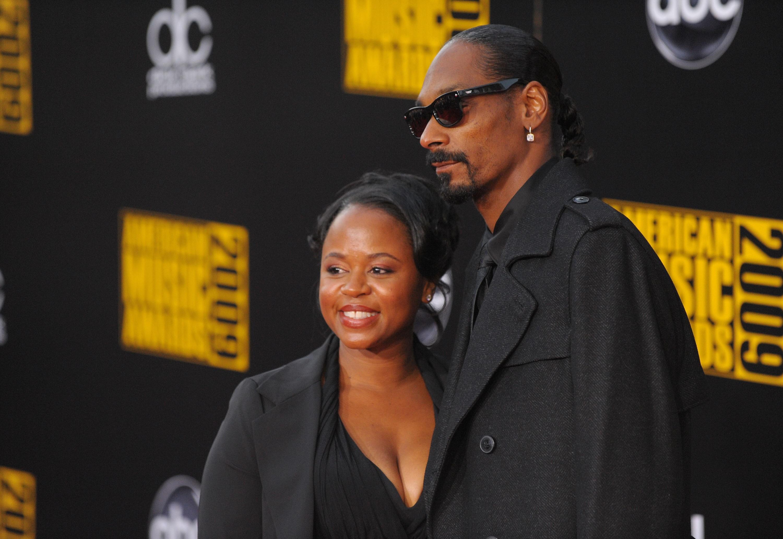 Shante e Snoop Lion (Foto: Divulgação)