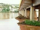 Forte correnteza do Rio Doce faz DER interditar rodovia ES-248