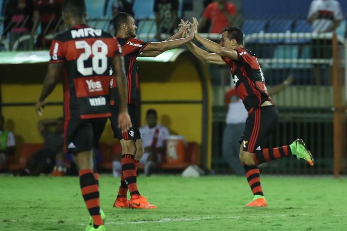 Leandro Damião - Flamengo x Bangu (Foto: Gilvan de Souza/Flamengo)