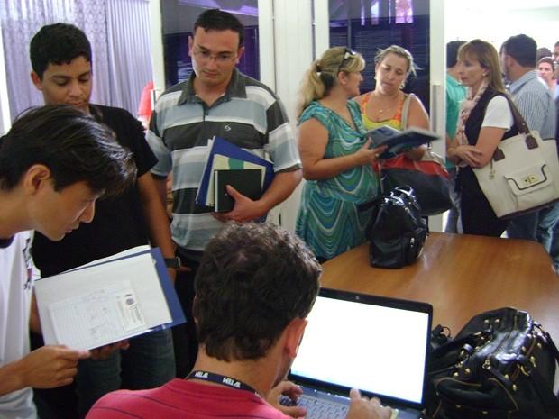 Representantes puderam escolher entre fevereiro e outubro para receber o projeto (Foto: Alan Schneider / G1 Bauru e Marília)