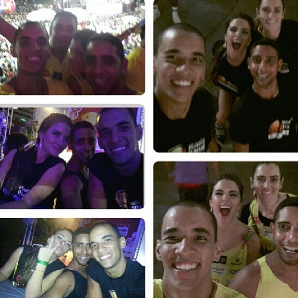 Ex-BBB Laisa curte carnaval de Salvador cercada de amigos (Foto: Instagram)