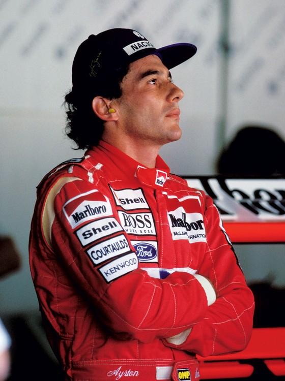 Ayrton Senna ex piloto de formula 1 (Foto:  Jean-Marc LOUBAT/Gamma-Rapho via Getty Images))