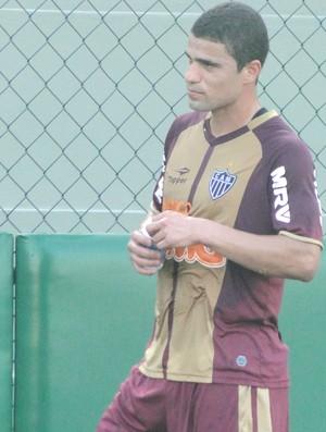 Leonardo, atacante do Atlético-MG (Foto: Lucas Catta Prêta / Globoesporte.com)