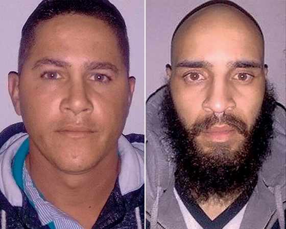 CRIME Ronildo Araújo e Maycon Carvalho, presos por tatuar  o adolescente. Deram a si mesmos o poder de prender, julgar e impor a pena (Foto: Reprodução (2))