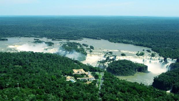 Cataratas do Iguaçu (Foto: Divulgação/ Site Parque Nacional Iguaçu)