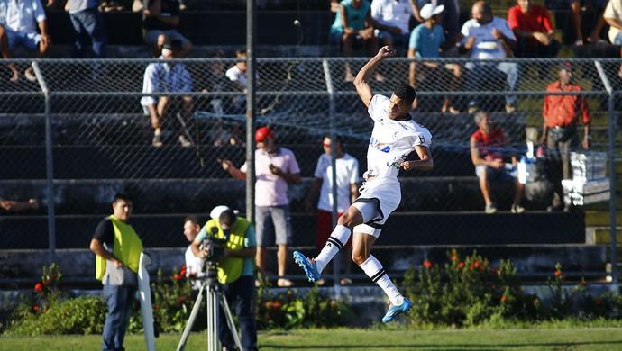 Thallyson comemora gol do ASA contra o Treze (Foto: Ailton Cruz/Gazeta de Alagoas)