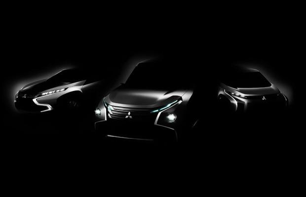 Conceitos Mitsubishi XR-PHEV, GV-PHEV e AR (Foto: Divulgação)
