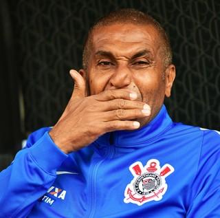 Cristóvão Borges Corinthians x Palmeiras (Foto: Marcos Ribolli)