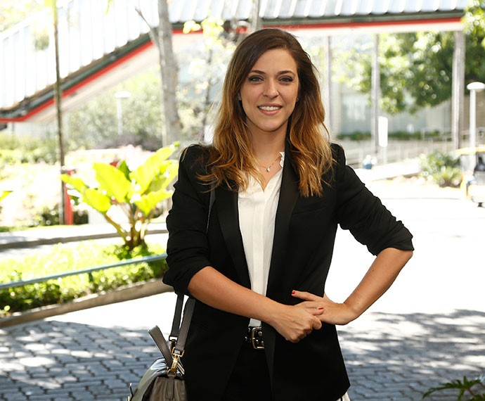 Júlia Rabello faz sua estreia em novelas como Úrsula  (Foto: Raphael Dias/TV Globo)