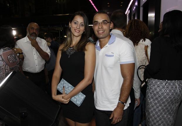 Rafael Pedro e Camila Nascimento (Foto: Celso Tavares / Ego)