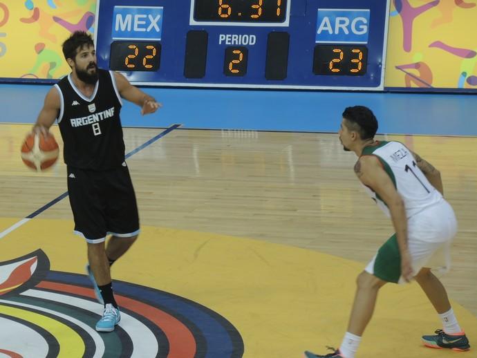 Nico Laprovitola basquete Argentina (Foto: GloboEsporte.com)