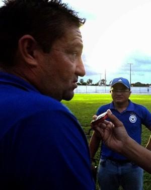 Jorge Pinheiro - Técnico do Parnahyba (Foto: Renneé Fontenele/PFC)