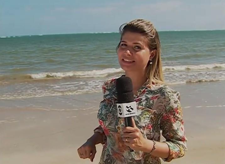 Monike Freitas ... (Foto: Reprodução/ TV Asa Branca)