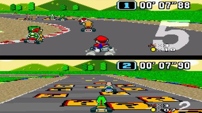 Super Mario Kart começou uma febre com jogos de corrida divertidos para o Super Nintendo (Foto: Reprodução/Nintendo Life) (Foto: Super Mario Kart começou uma febre com jogos de corrida divertidos para o Super Nintendo (Foto: Reprodução/Nintendo Life))